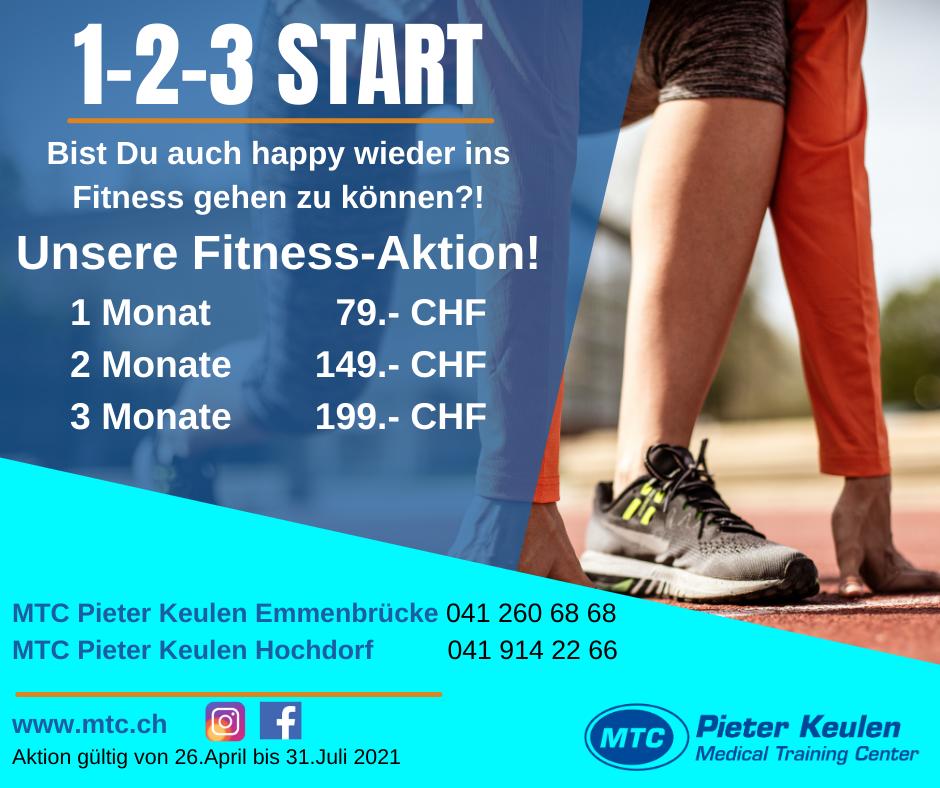 Fitness Sommeraktion 2021