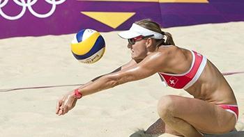 Simone beachvolleyball